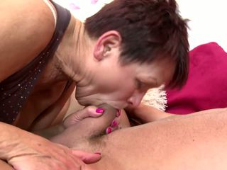 Taboo Home Story with Granny and Young Boy: Free HD Porn 81