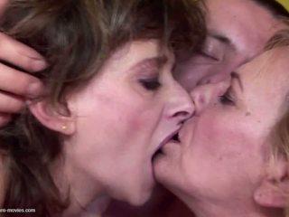 sexo en grupo, grannies, maduros