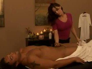 big boobs, matures, massage