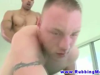 Gaystraight hunk assfucked with black cock