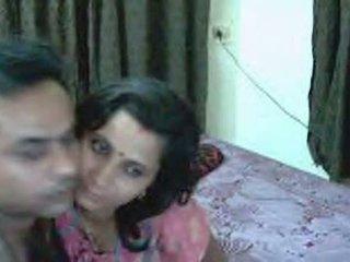 Desi Newly Married Couple On Webcam Enjoying Sex I