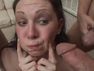 cum, play, swallowing