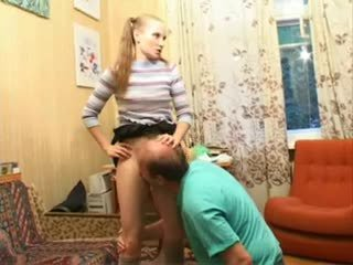 old+young, femdom, russian