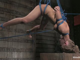 19 Year Old Leah Wilde S First Waterbondage Experience