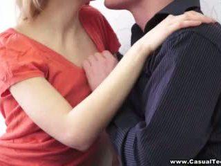 wytryski, ścieśniać, całowanie