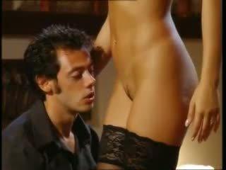 ブルネット 新鮮, すてきな フェラチオ, 品質 セックス