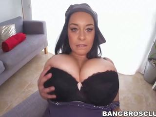 blowjobs, big boobs, brunettes