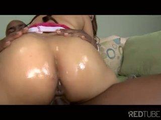 Black cock works ebony booty