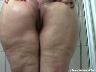 Duits bbw samantha in de douche hd