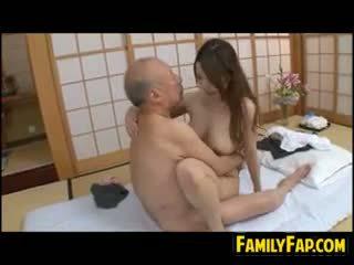 japanse, oude + young, fetisch