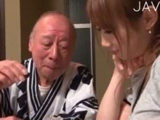 japanse, kindje, oude + young