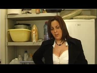 FRENCH CASTING 99 brunette anal mature...
