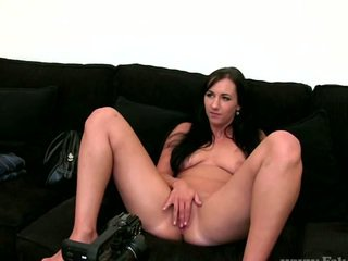 Real sex audition busty raven gets fucked