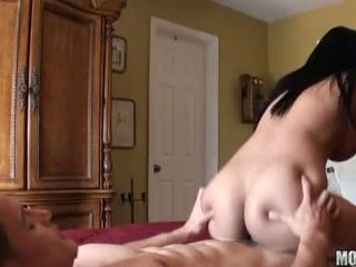 Pleasing doxy abella anderson slams it real hot making her man cum with pleasure