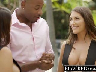 Blacked august ames dhe valentina nappi pjesë bbc - porno video 021