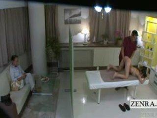 Subtitled jepang pelajar putri idol hopeful bokong pijat