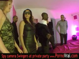 French Swinger party in a private club part 03