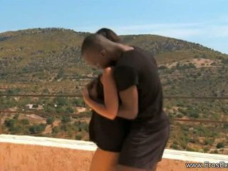 Negra exótico lovemaking