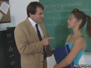 small tits, classroom, teen