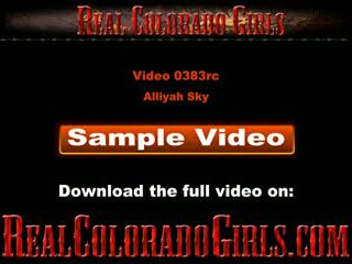 Alliyah Sky Gets Her Pussy Fingered And Licked By An Old Guy