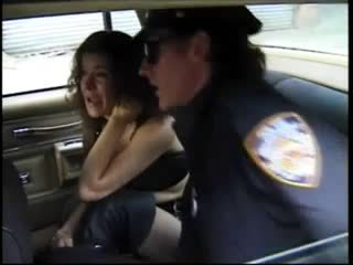 She's Arrested For Public Sex And Assfucked By Cop