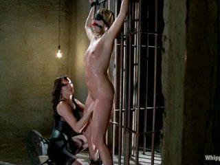 Maitresse madeline 處罰 和 性交 和 hazed 在 如 導演 的 whipped 屁股 由 公主 donna
