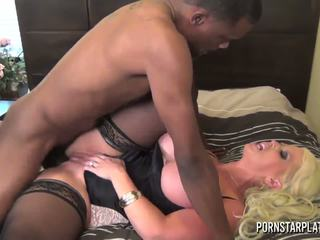PornstarPlatinum - Alura Jenson and black friend