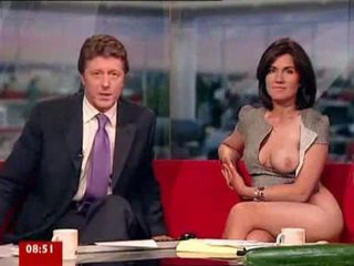 Susanna reid pelissä kanssa seksi lelut päällä breakfast tv