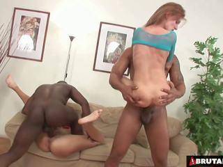 Brutalclips - mostro cocks rip entrambi suo holes: hd porno bc
