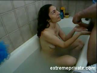 Spy movie Mom sucking Cock in Bath Video