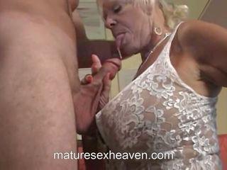 ישן גברת does שלה שכן, חופשי the swinging סבתא הגדרה גבוהה פורנו