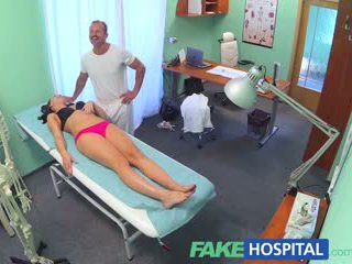 FakeHospital Horny teen gets creampied by doctor