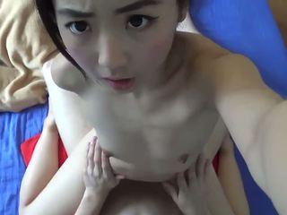 Warga asia kecil molek remaja tegar fucked