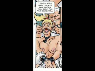 ブロンド だまさ に ボンデージ、支配、サディズム、マゾヒズム セックス コミック