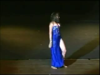 grote tieten, arabisch, dansen