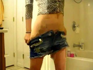 Amazing Body Teen Stripshow Video