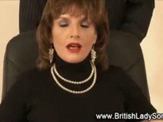 Stocking Milf Lady Sonia Cumshot