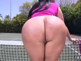 Fat Ass Kiara Mia Gets Fucked At A Tennis Court