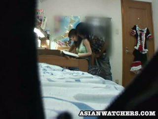 Spycam muda pelajar putri privat lesson 2
