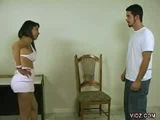 Gorgeuos stud submits self for some spanking