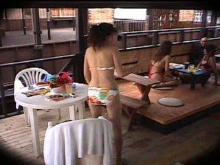 일본의, 마사지, 클럽