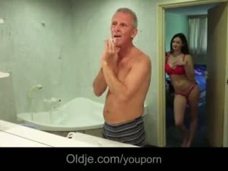 ung, stora bröst, pussyfucking
