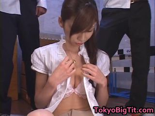 Asian Milf Rina Tomoa Receives Sprayed