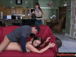 Two sexy women Eva Karera and Holly Hudson hot threeway