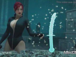 3de animacija moster seks s a rdeča lase velika prsi bejba