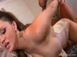 बड़ा titty lovers वेट ड्रीम कम सच साथ kelly madison