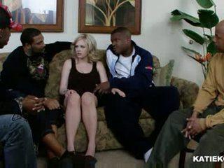 Katie kox міжрасовий груповий секс