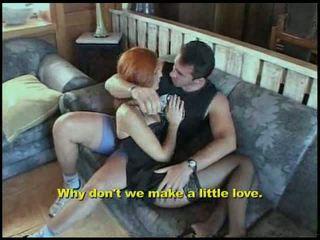 anal sex, redhead, small tits