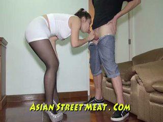 Acorrentada para cima podgy asiática piglet