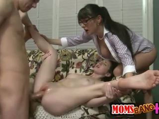 group sex, big cock, troje